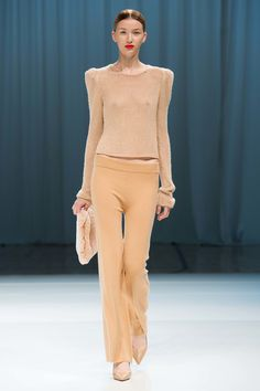 I think I know someone who might have a pair of tan cashmere pants thanks to a top notch online vintage shop....