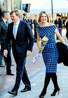 koninklijkhuis: April: King Willem-Alexander and Queen Máxima, accompanied by Princess Beatrix and Princess Margriet, attended to a Concert in the city of Dordrecht, in the eves of their visit to. Monaco Princess, Princess Charlene, Princess Sofia, Queen Maxima, Queen Letizia, Fashion Tights, Fashion Outfits, Royal Beauty, Estilo Real