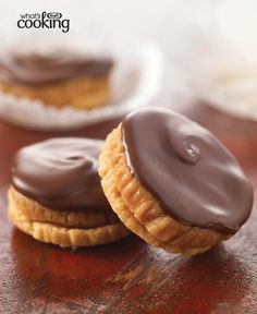 Triple-Peanut Butter Buttons #recipe