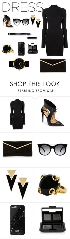 """#longsleves"" by xoxeloisexox ❤ liked on Polyvore featuring adidas Originals, Christian Louboutin, Alexander McQueen, Yves Saint Laurent, Gucci, Native Union, NARS Cosmetics and Larsson & Jennings"