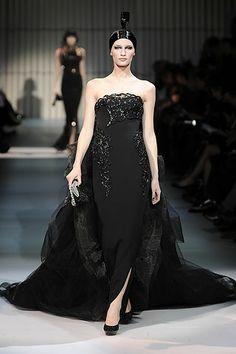 spring 2009 couture  Armani Privé