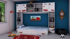Imaginea Camera tineret Racer Furniture, Home Decor, Decoration Home, Room Decor, Home Furnishings, Home Interior Design, Home Decoration, Interior Design, Arredamento