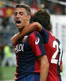 Genoa Cfc, Football Soccer, Baseball Cards, Sports, Curly, Soccer, Hs Sports, Sport