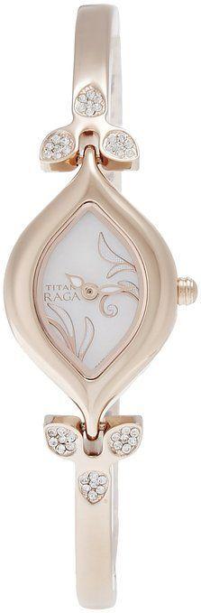 Titan Women's 2012WM01 Raga Inspired Gold Tone Watch