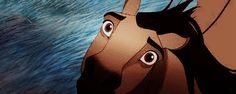 spirit stallion of the cimarron gif - Google Search