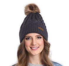 30fe5e593d6 Brook Bay Faux Fur Pom Pom Beanie - Stay Warm