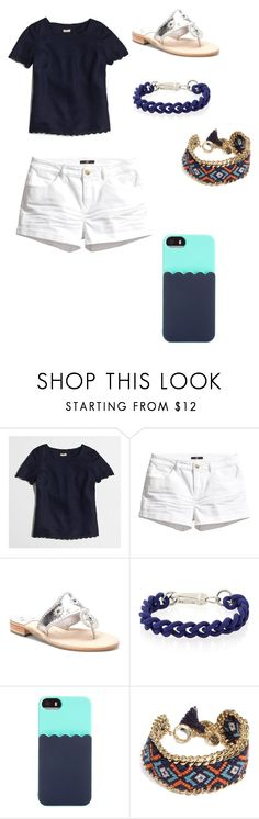 """""""As you can tell I love jack rogers"""" by cmsgirl ❤ liked on Polyvore featuring J.Crew, H&M, Jack Rogers, Kate Spade and Vera Bradley"""