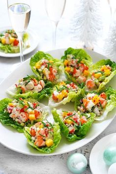 This easy avocado, mango and chilli prawn cups recipe is a light and easy starter recipe perfect for Christmas Day. This easy avocado, mango and chilli prawn cups recipe is a light and easy starter recipe perfect for Christmas Day. Seafood Recipes, Appetizer Recipes, Cooking Recipes, Healthy Recipes, Easy Prawn Recipes, Xmas Food, Christmas Cooking, Christmas Entertaining, Cucumber Recipes