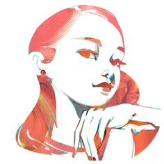 Kai fine art is an art website, shows painting and illustration works all o Character Drawing, Character Design, Graphic Design Illustration, Illustration Art, Art Sketches, Art Drawings, Daisy Drawing, Environment Concept Art, Art Sketchbook
