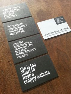 Best Business Cards ever!!