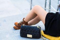 Miu Miu, Chanel, Shoulder Bag, Brown, Classic, Bags, Shoes, Fashion, Derby