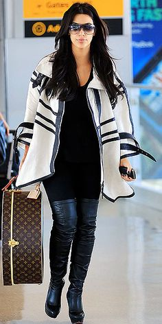 Kim Kardashian. Famous for having a big ass, a sex tape and a miss piggy voice.