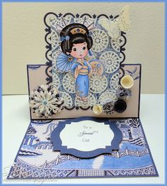 The Paper Shelter image on card by Craftin' Suzie
