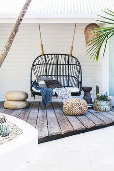 Afbeeldingsresultaat voor hang schommelstoel buiten