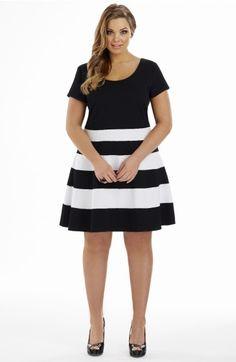 Panel Skirt Dress
