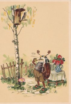 Vintage German Postcard Nr. 2309 1950s-60s by RussianSoulVintage