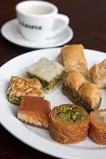 Middle Eastern Pastries #DavidLebovitz Reminds me of tea at the La Grande Mosquée de Paris.
