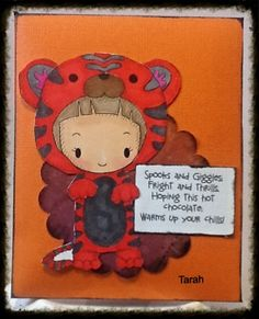 Chichi memories tiger hot cocoa packet