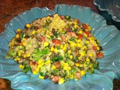 Quinoa & Sprouted Bean Dip | Foodie Gone Healthy