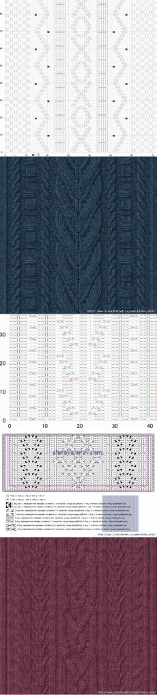 liveinternet.ru Oak Leaves, Celtic, Knitting Patterns, Quilts, Blanket, Rugs, Crochet, Amazing, Knit Patterns