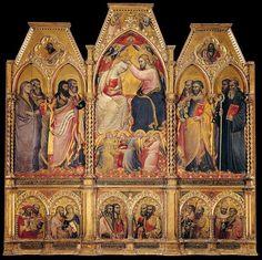 Spinello Aretino - Coronation of the Virgin