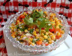 Roasted corn salsa. Yummy and Daniel fast friendly.