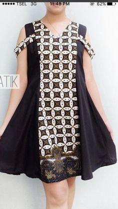 Ideas For Sewing Clothes Diy Refashioning Girls Batik Kebaya, Batik Dress, Batik Fashion, Women's Fashion, Diy Bags No Sew, Blouse Tutorial, Nice Dresses, Girls Dresses, Sewing Blouses