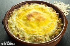 Comment faire la croziflette. Recette facile avec photos. Un gratin fait avec les pâtes savoyardes aux lardons et bien sûr au Reblochon.