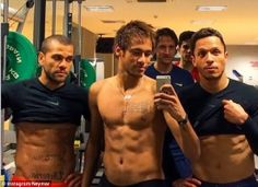 Celebrities Bulletin: Neymar and Barcelona pals show off toned bodies - ...