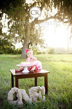 cortneyrussell.com sweet pea birthday childrens photography