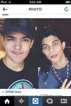 JOEL AND ERICK FROM CNCO