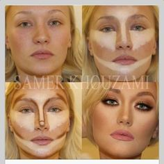 face contouring can be done with Younique products, BB cream and concealers www.youniqueproducts.com/flashyourlashes ... for more info