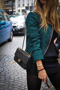 Chanel bag during PFW