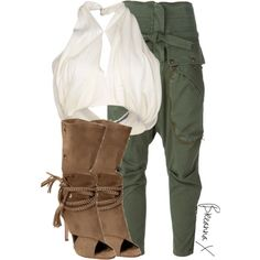 Untitled #2685 by breannamules on Polyvore featuring polyvore fashion style Balmain Faith Connexion Monika Chiang