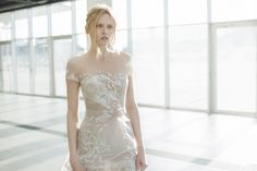 Mira Zwillinger - Sienna...More beautiful details for a simple silhouette.Work within your budget to achieve this bridal look.Cheaper to have custom-made than purchasing from salon.