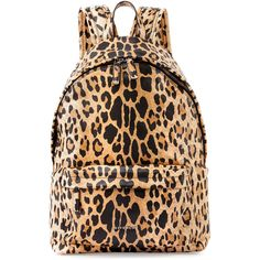 Givenchy Antigona Nylon Backpack (25,130 THB) ❤ liked on Polyvore featuring bags, backpacks, leopard, leopard bag, nylon backpack, star backpack, logo backpack and top zip backpack