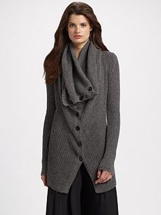 ann demeulemeester. price 1150. I think I could knit this for less, no?