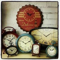 vintage clocks - adorados y odiados despertadores!!!!