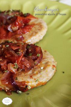 Hamburger pomodorini cipolla di Tropea