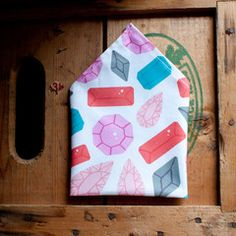 Gems Pocket Square