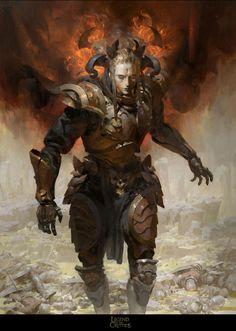 (Haze) Black Flame Caller Knight. Legend of the Cryptids Applibot