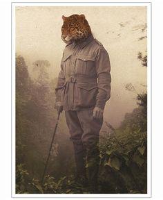 Jungle Jaguar Poster