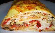 """Roll """"A la lasagna! Russian Desserts, Russian Recipes, Best Appetizers, Appetizer Recipes, Party Food Bars, Lasagna Ingredients, Lasagna Rolls, Top 5, Bon Appetit"""