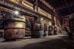 heavy metal -abandoned steel mill