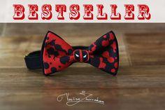 Deadpool Bow tie  Bowtie marvel comics by FavoriteAccessories