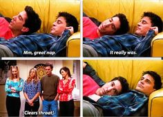 Friends TV the one with the nap partners