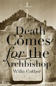 #BookReviews on my blog  http://chadschimke.blogspot.com/search/label/BOOK%20REVIEW DEATH COMES FOR THE ARCHBISHOP - Bishop Jean Baptiste Lamy envisions a yellow stone church on the Santa Fe plaza. The book follows his life and the construction of the Cathedral Basilica. In Willa Cather's 'Death Comes for the Archbishop', she gracefully describes the haunted beauty of New Mexico.