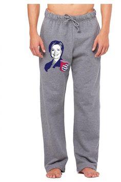 Hillary Clinton Celebrating 4th Of July Sweatpants