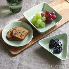 イッタラ (iittala) ティーマ (TEEMA) ミニサービングセット 3PCSセット セラドングリーン French Toast, Pudding, Lunch, Plates, Breakfast, Tableware, Desserts, Enamel, Food