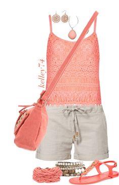 """Casual Coral Crochet"""